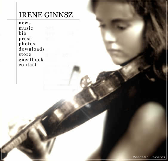 bach violin concerto played live by Irene Ginnsz